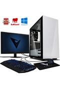 Vibox Sharp shooter 7l pc gamer ordinateur avec jeu bundle, windows 10 os, 22