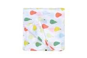 Petit Jour Paris Lange poires multicolores 120 x 120 cm