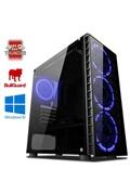 Vibox Precision 6 pc gamer ordinateur, 2 jeux gratuits, windows 10 os (3,4ghz ryzen quad-core, nvidia geforce gt 710, 8gb 2400mhz ram, 1tb hdd)