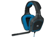 Logitech Logitech g430 7.1 filaire surround sound gaming headphones microphone headsetgaming headset 186