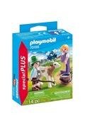 PLAYMOBIL Playmobil 70155 autre - enfants avec veau