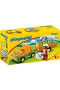 PLAYMOBIL Playmobil 70182 1.2.3 - vétérinaire avec véhicule et rhinocéros
