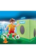 PLAYMOBIL Playmobil 70157 autre - joueur de foot et but