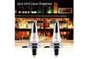 Xcsource 2pcs 30ml bar butler montage mural vin alcool liqueur esprit bière hs1332