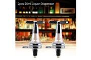Xcsource 2pcs 25ml bar butler montage mural vin alcool liqueur esprit bière hs1331