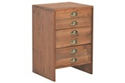 Vidaxl Table de chevet 40 x 35 x 60 cm bois de sapin massif