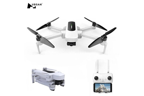 Generic Hubsan zino h117s quadcopter drone 4k wifi gps caméra fpv + double batterie drone 1564