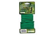 Ribimex Liens fil métallique revêtu 6,5 mm x 5 m plantes jardinage prlien655