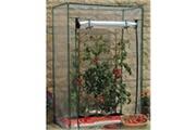 Bricobravo Serre de jardin potager tomates avec fenêtre en pvc s1144720