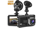 AUCUNE Caméra dash voiture avec full hd 1080p 170 degrés grand angle caméras g-sensor