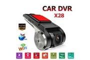 AUCUNE X28 dash cam de fhd voiture dvr caméra enregistreur vidéo wifi adé g-capteur
