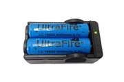 Generic 2 x ultrafire 18650 4200mah 3.7v batterie rechargeable + chargeur 39