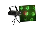Fx Lab Mini laser rouge 100mw & vert 30mw motifs têtes de mort fx-lab g018ba
