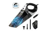 GENERIQUE Aspirateur de voiture, aspirateur portable à main 12 v, aspirateur puissant 100 w 5000 pa avec filtre hepa en acier inoxydable