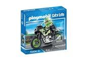 PLAYMOBIL 70204 pilote et moto, playmobil city life