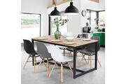 Idmarket Table à manger detroit design industriel 150 cm