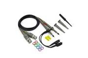 AUCUNE Kit de cordons de test de sonde de clip pour analyseur d'oscilloscope 2x 100 mhz pour hp tektronix noir