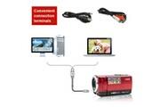 Generic Hdv numérique-107 caméscope caméra hd 720p dvr 16mp 2,7 '' écran tft lcd 16x 59