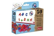 Fisher Price Puériculture Icaverne stickers - lettres adhesives jeujura coffret 50 lettres majuscules, chiffres et signes