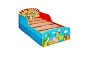 No-name Structure de lit 4 - lit pour enfants 70x140 cm avec espace de rangement sous le lit