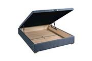 Epeda Sommier lit coffre en kit anthracite epeda kalypso - 160x200