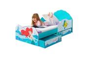 No-name Structure de lit es ariel lit enfant 70x140 cm avec espace de rangement sous le lit