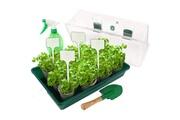 No-name Serre de jardinage planete plante ma petite serre - kit de jardinage - 15 pots et semences + 1 pelle + 1 pulvérisateur + marques plantes