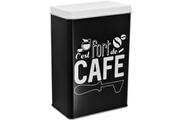 Promobo Boite de rangement en métal fort de café collection rétro