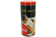 COCA-COLA Boite à capsules café pub vintage coca cola pin up refreshing