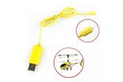 Generic Rc helicopter syma s107 s105 usb mini chargeur de câble de charge pièces drone chaingzi 22