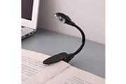 Generic Pratique carnet de voyage bien portable lampe de lecture lampe led mini clip booklight sh 509