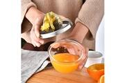 Generic Extracteur manuel de fruits en citron orange de presse-fruits de tasse de jus en plastique de main presse-agrumes