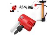 Ageneric Vélo vélo cycle pneu tube remplacement double tête pompe à air adaptateur valve