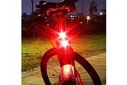 Generic Vélo vélo vélo 2 led arrière arrière feu arrière lampe de sécurité clignotant avertissement rouge tomn14