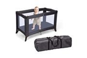 Home&styling Home&styling lit d'enfant pliable avec matelas gris foncé