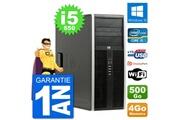 Hp Pc tour hp 8100 elite intel core i5-650 ram 4go disque dur 500go windows 10 wifi