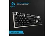 Generic Panneau en alliage d'aluminium clavier mécanique rétroéclairage filaire g413 de logitech hensiluse 305