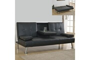 Meubler Design Canapé convertible clic clac canbar - noir