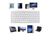 Generic Nouveau clavier sans fil bt 3.0 mince pour imac / ipad / android / téléphone / tablette pc clavier 341