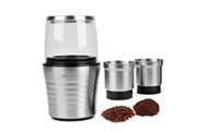 Veohome Moulin à café et mixeur électrique veohome pour grains de café, de lin, graines diverses, noix, épices - inox