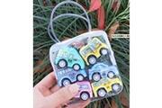 Generic Les voitures de jouet de 6pc ont placé pour des enfants, tirent en arrière des voitures poussent et vont des jouets de voitures voiture rc