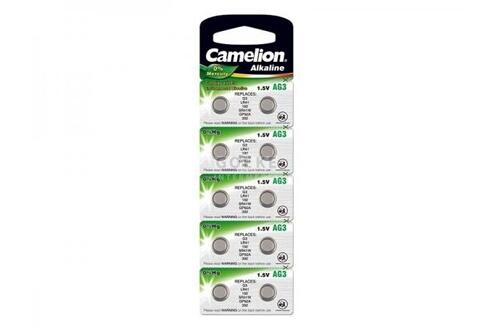 Camelion Haute qualitã© de 10 lr1130/389/189 lr54/ag10 1,5 v li-ion et piles bouton