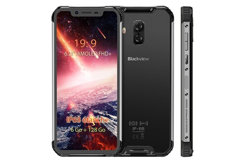 Blackview Smartphone étanche ip68 blackview bv9600 pro 6go+128go écran 6.21