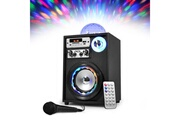 Koolstar Enceinte karaoké autonome à leds rvb & effet magic 4