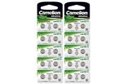 Camelion Pack de 20 piles camelion alcaline ag13/lr44/lr1154/357 0% mercury/hg