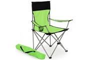 Helloshop26 Lot de 2 chaises pliante camping + housse verte helloshop26 2008039