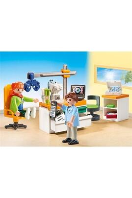 PLAYMOBIL City life - cabinet d'ophtalmologie