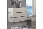 Zendart Design Selection Commode moderne avec 3 tiroirs 115x45x78 cm par zendart design