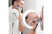 Shop Story Miroir grossissant à led avec bras flexible et ventouse cadeau pour homme