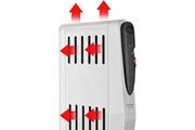 Taurus Icaverne radiateur electrique fixe radiateur a bain d'huile caréné tuareg 1500 - 1500w